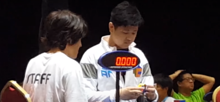 Max Park 3×3 10.31s OH average